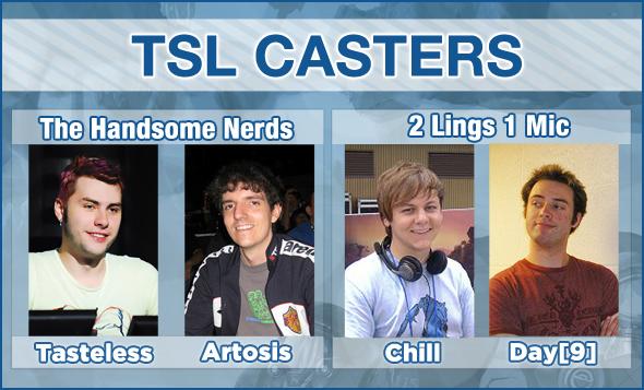 PokerStrategy.com TSL Casters