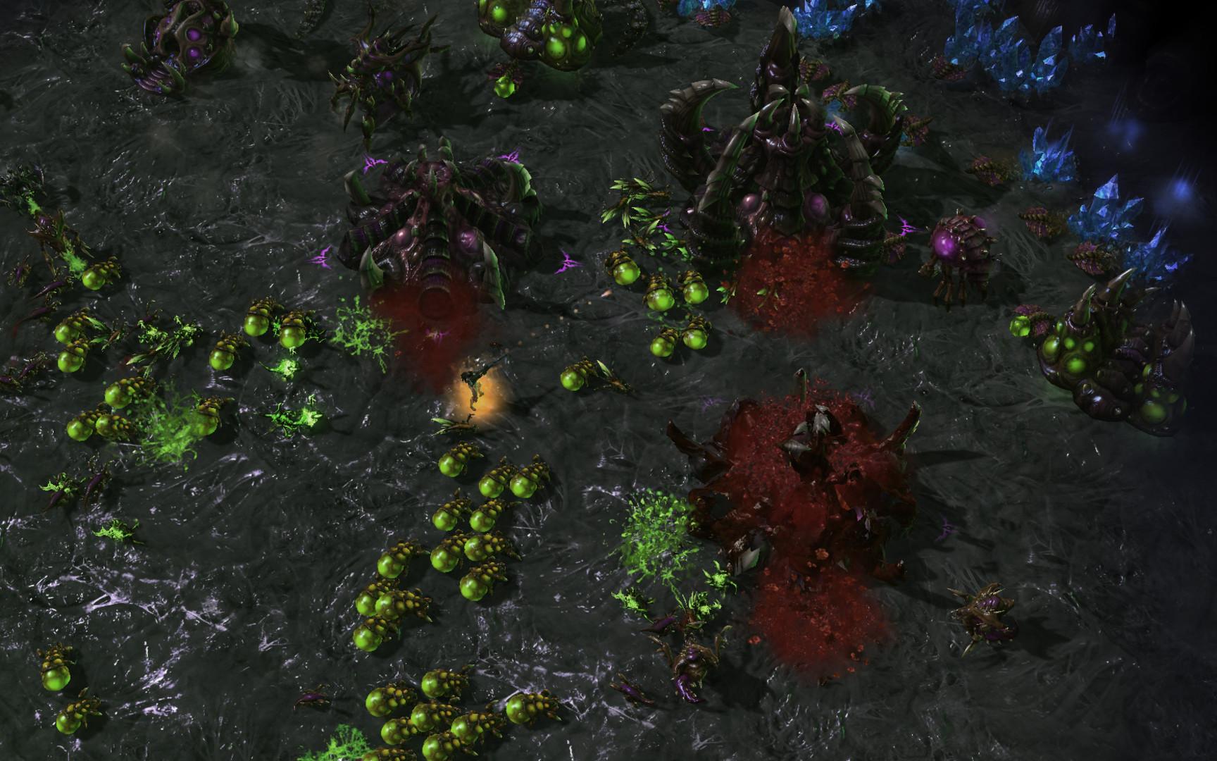 Новые юниты для starcraft 2.