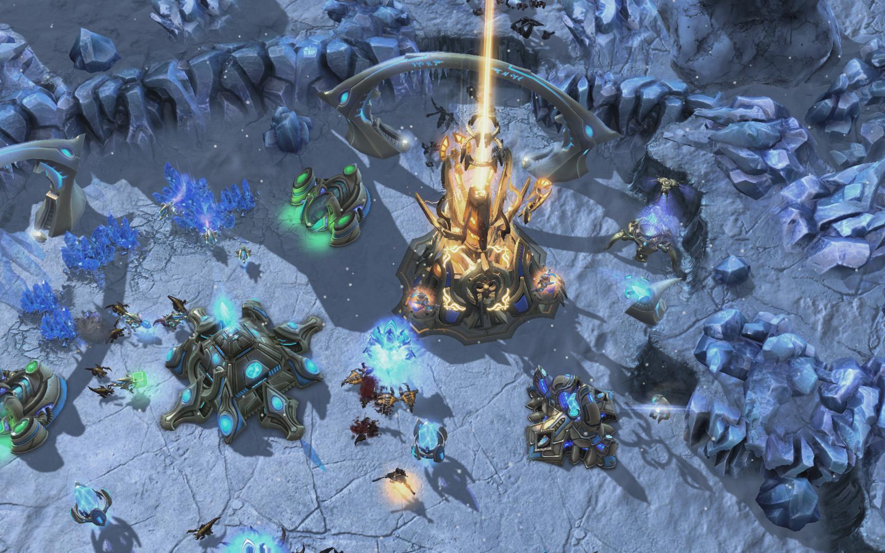 Скачать бесплатно StarCraft II 2012 Beta + crack (2012/Русский) без