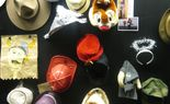 A literal hat wall.