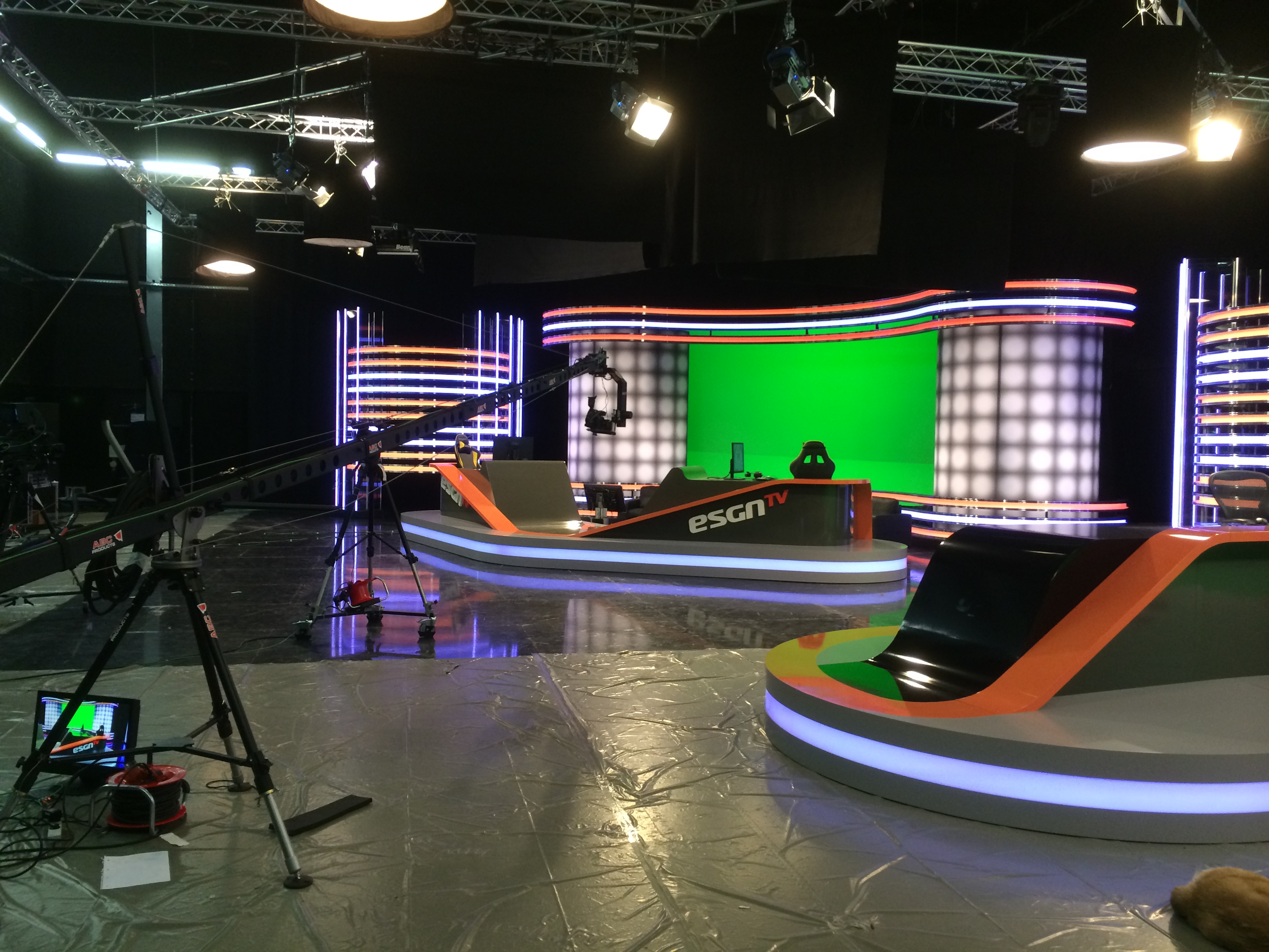 Empty Tv Studio About myself, teams, and secret tournaments