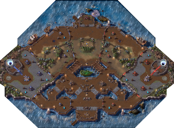 Heroes Of The Storm Map Guide Blackhearts Bay
