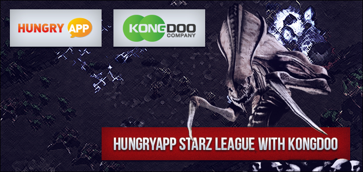 HungryApp Starz League with Kongdoo