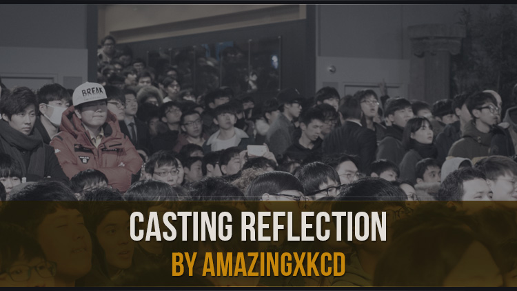 Casting Reflection by amazingxkcd