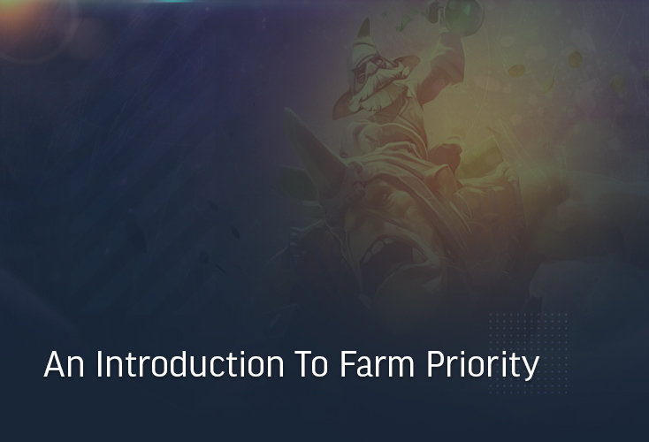 The Dota 2 1-to-5 system, an introduction to farm priority