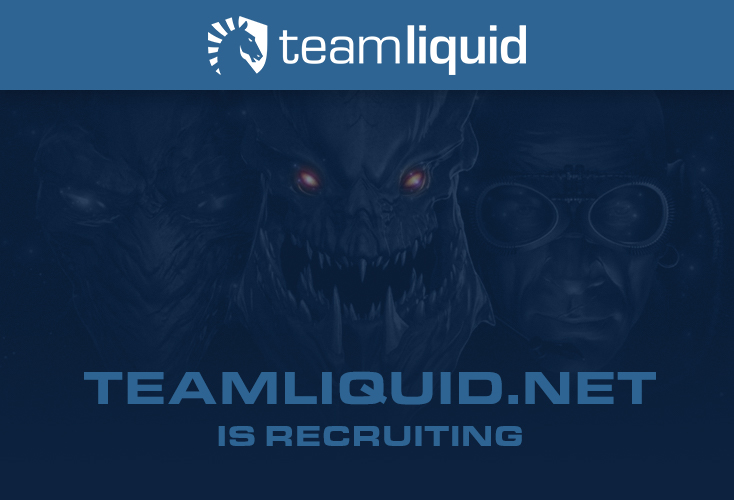Teamliquid.net is recruiting