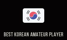 Best Korean Amateur Player